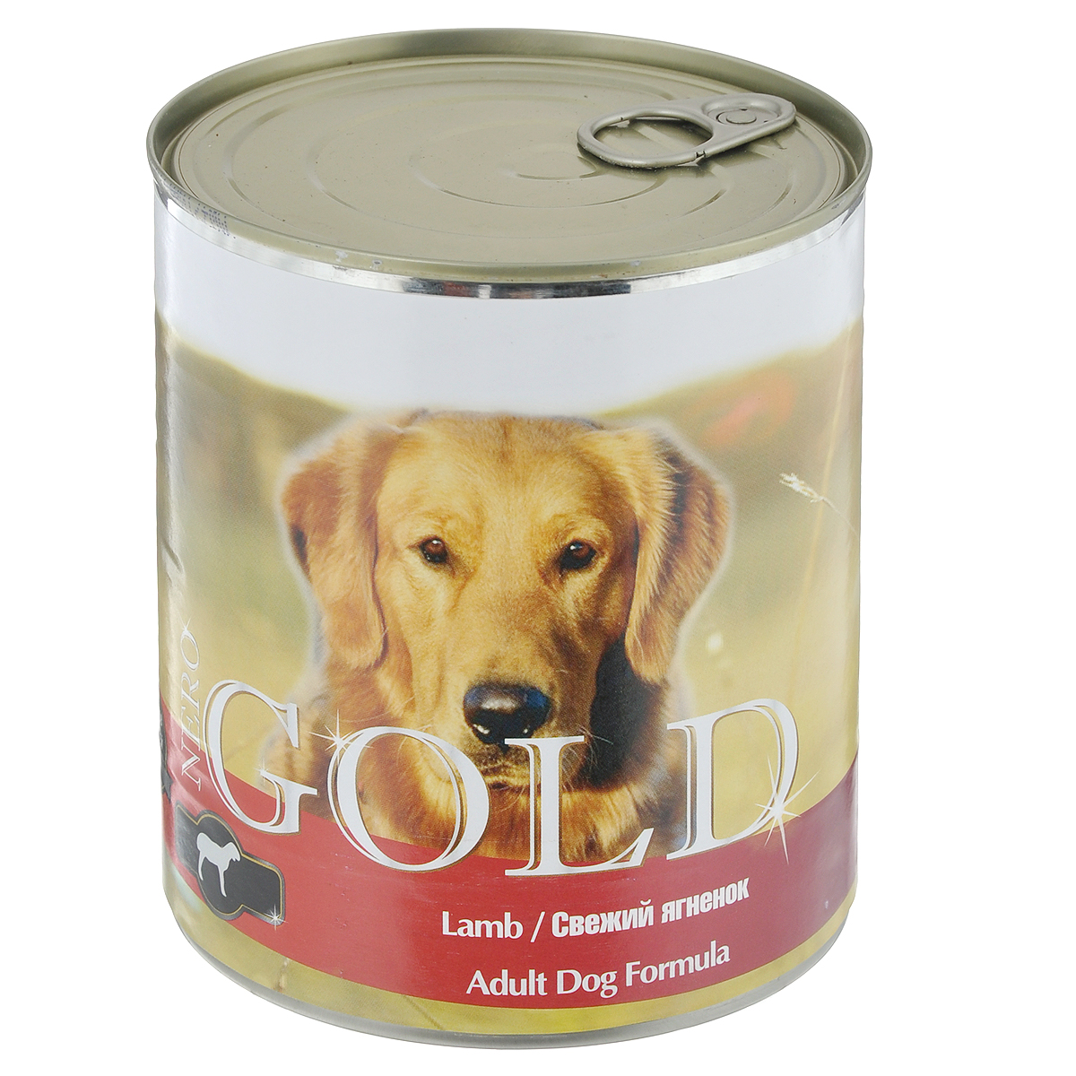 """Консервы для собак """"Nero Gold"""", свежий ягненок, 810 г"""