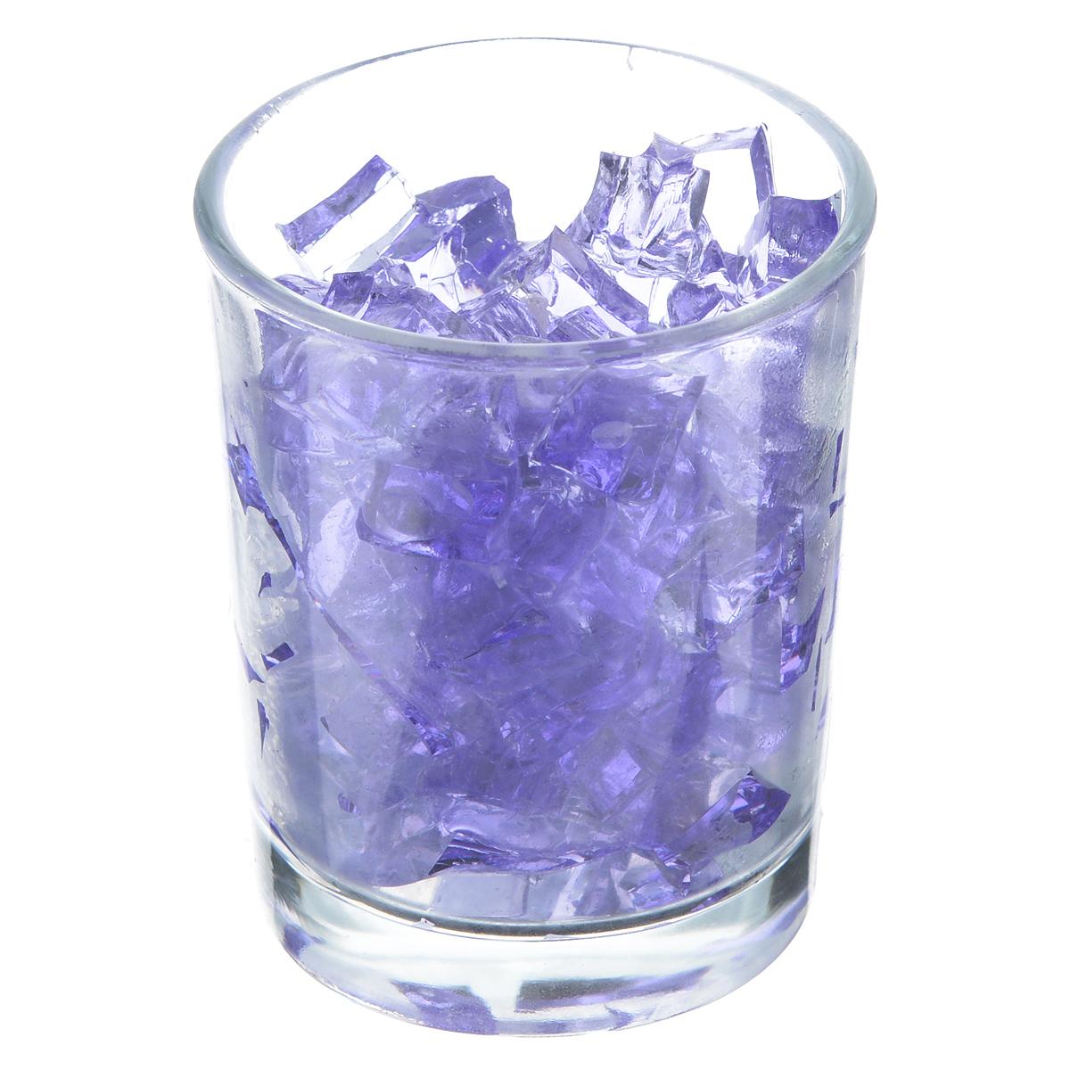Свеча Sima-land Мармелад, цвет: фиолетовый, высота 6 см895591Свеча Sima-land Мармелад изготовлена из цветного геля и поставляется в подсвечнике в виде стеклянного стакана. Изделие отличается оригинальным дизайном. Такая свеча может стать отличным подарком или дополнить интерьер вашей комнаты.