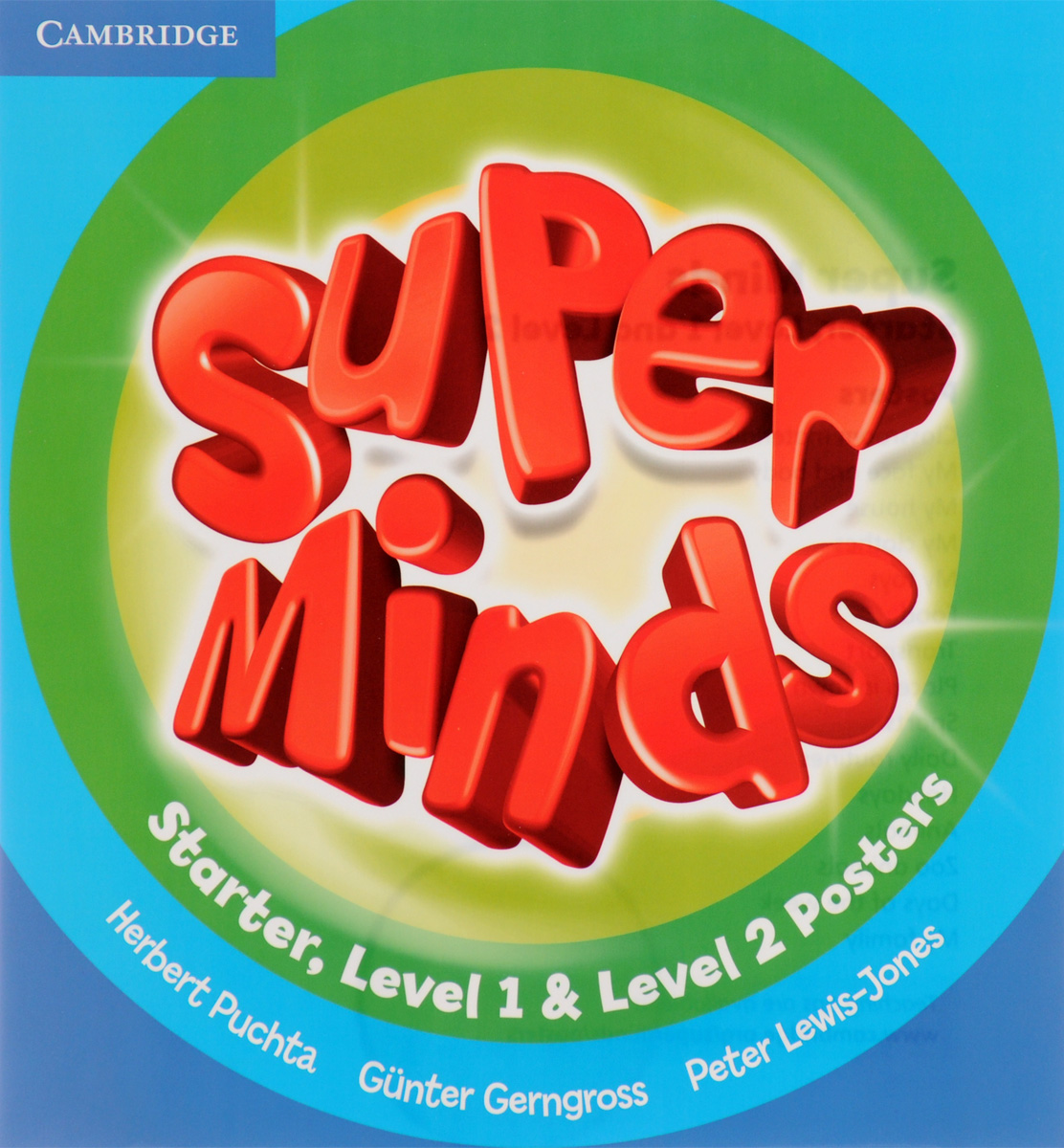 Super Minds: Starter, Level 1 & Level 2: Posters beddall f malcolm in the middle krelboyne picnic starter level сd