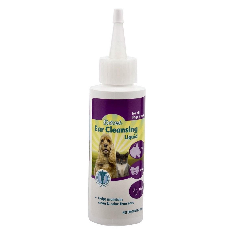 Лосьон для собак и кошек 8 in 1 Excel, гигиенический для ушей, 113 мл1007401Гигиенический лосьон для ушей 8 in 1 Excel предназначен для кошек и собак. Лосьон мягко и эффективно удаляет загрязнения и растворяет скопления серы. Регулярное использование помогает поддерживать гигиену уха. Удобен в применении. Не раздражает ухо, содержит успокаивающую формулу. Способ применения: Щедро распределите в ухе. Аккуратно протрите доступную часть уха ватным тампоном. При необходимости повторите. Используйте 3 раза в день в течение 1-2 дней, затем один раз в день до тех пор, пока ушной канал не станет чистым. Для регулярного поддержания чистоты ушей животного используйте лосьон 1-2 раза в неделю. Для местного использования в ушах. Избегать контакта с глазами. Состав: вода, пропиленгликоль, яблочная кислота, салициловая кислота, бензойная кислота.Товар сертифицирован.