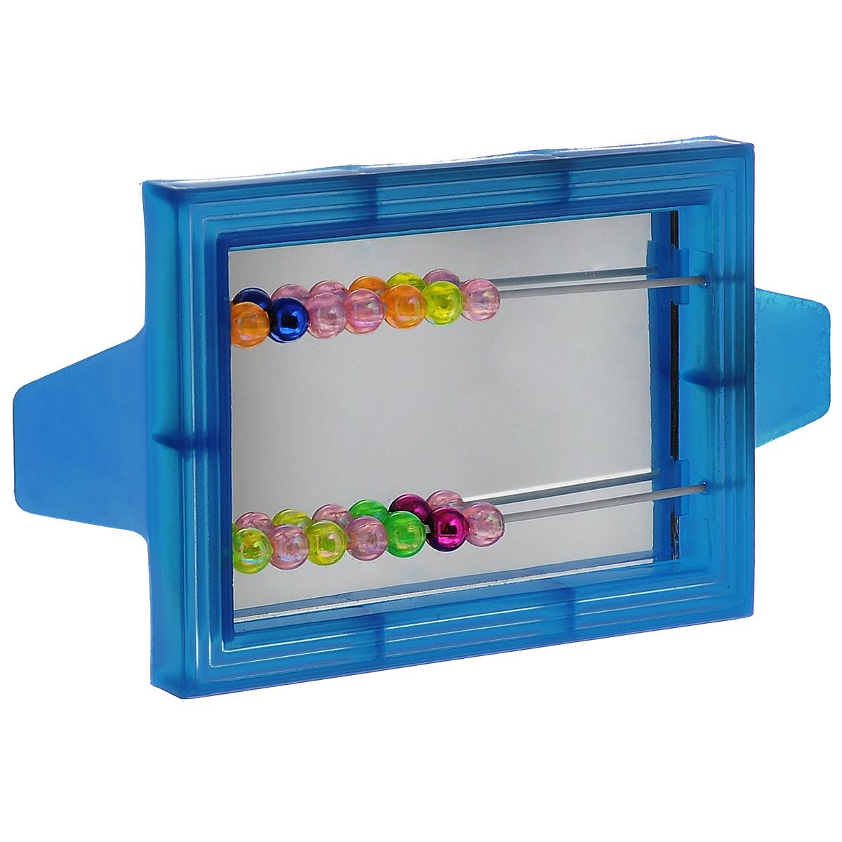 Игрушка для птиц Triol Зеркало с бусинками, цвет: синийBR6_синийИгрушка Triol Зеркало с бусинками, изготовленная из пластика, предназначена для птиц. Зеркало в яркой оправе оснащено двумя металлическими прутиками с подвижными разноцветными бусинами. Такая игрушка не даст скучать вашему питомцу.