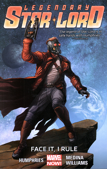 Legendary Star-Lord: Volume 1: Face It, I Rule legendary star lord volume 1 face it i rule