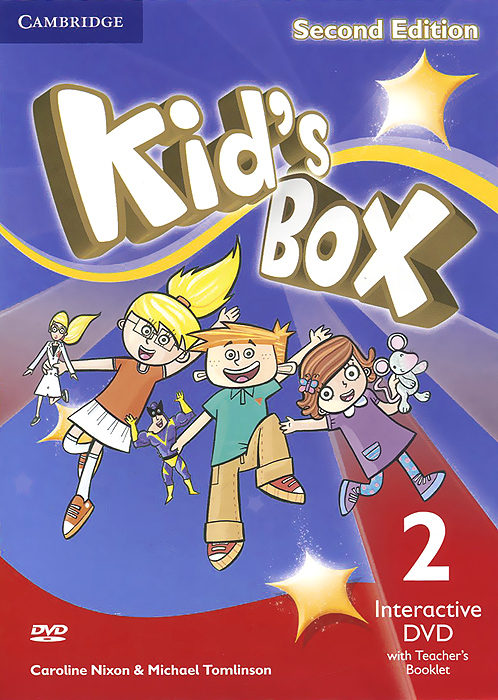 Kid's Box 2: Interactive DVD with Teacher's Booklet (аудиокурс на DVD) cambridge young learners english flyers 5 answer booklet