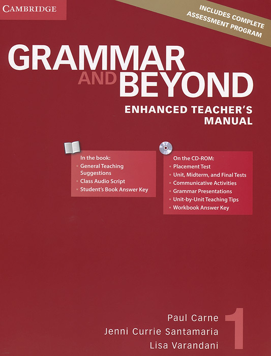 Grammar and Beyond: Level 1: Enhanced Teacher's Manual (+ CD-ROM)