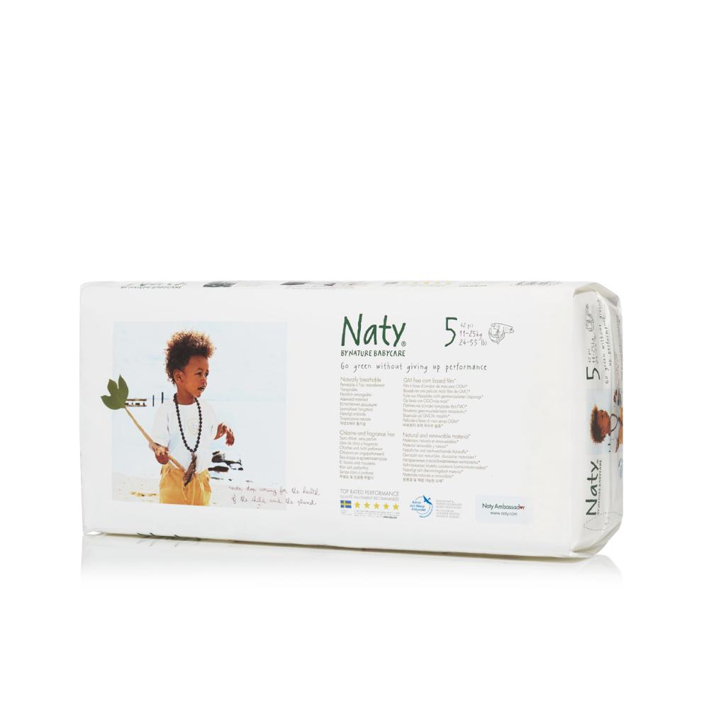 Naty Фито-подгузники 5 (11-25 кг) 42 шт