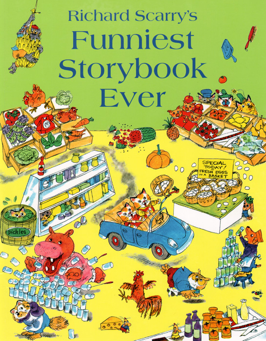 Richard Scarry's Funniest Storybook Ever the funniest christmas joke book ever