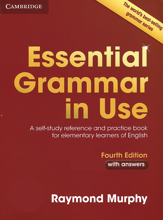 Essential Grammar in Use: A Self-Study Reference and Practice Book for Elementary Learners of English: With Answers murphy r essential grammar in use 3rd edition classware for elementary students of english dvd rom