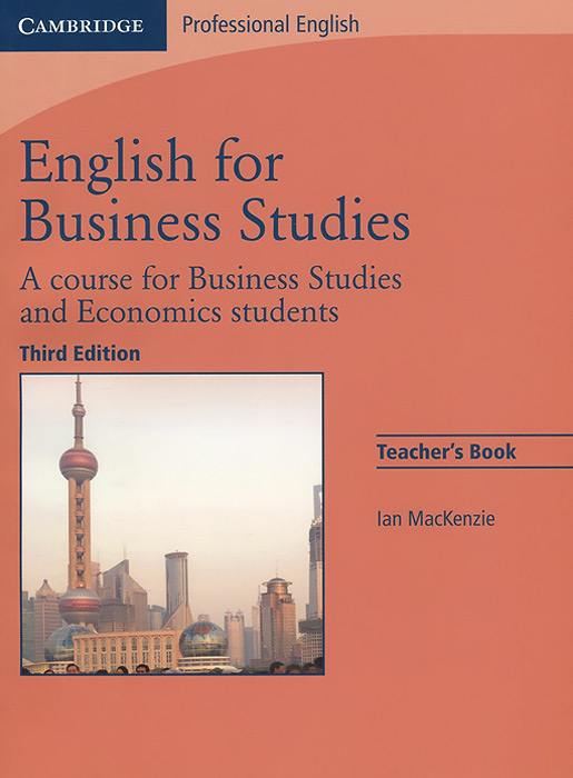 English for Business Studies: A Course for Business Studies and Economics Students: Teacher's Book Уцененный товар (№1) vale 3 teachers book