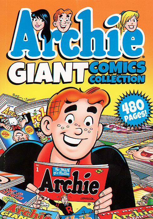 Archie Giant Comics Collection awkward