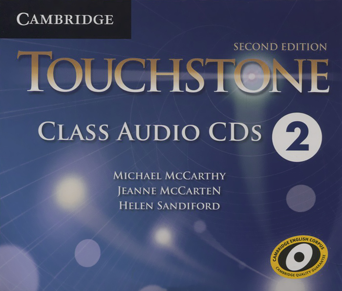 Touchstone: Level 2: Class Audio CDs (аудиокурс на 4 CD) english adventure level 4 pipil s book