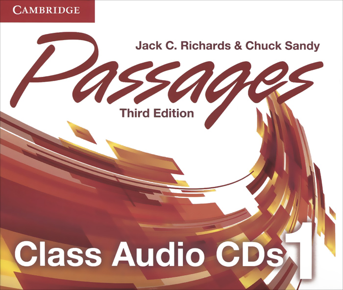 Passages: Level 1: Class Audio CDs (аудиокурс на 3 CD)