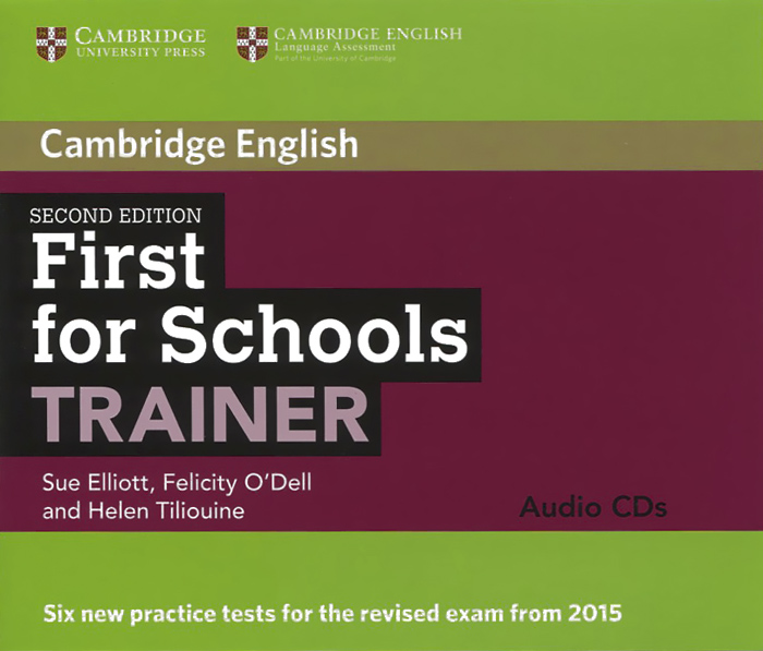 First for Schools: Trainer: Audio CDs (аудиокурс на 3 CD) clyde l dodgson l harwood d first buster preparation course for the cambridge english first fce for schools student s book with 3 practice tests 3cd