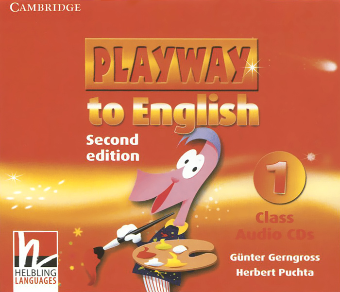 Playway to English Level 1 аудиокурс на 3 CD