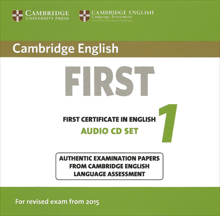 First Certificate in English 1 (аудиокурс на 2 CD) evans v practice exam papers 1 for the revised cambridge fce examination
