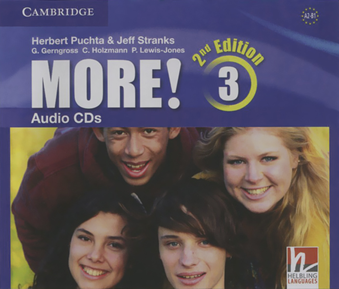 More! Level 3: Audio CDs (аудиокурс на 3 CD) driscoll l cambridge english skills real reading 3 with answers