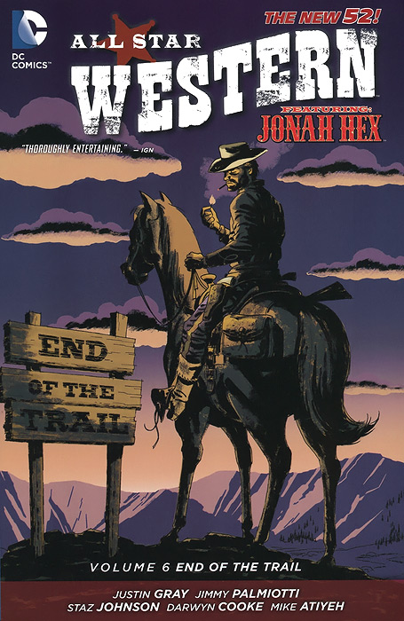 All Star Western: Volume 6: End of the Trail jonah hex no way back