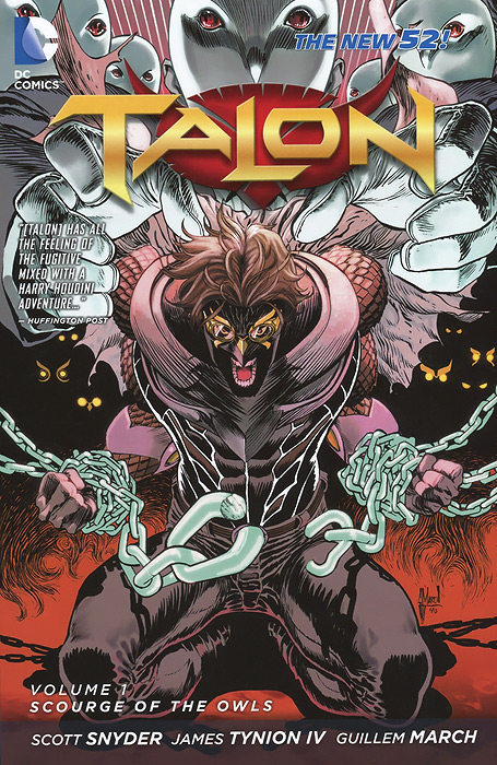 Talon: Volume 1: Scourge of the Owls batman volume 1 the court of owls