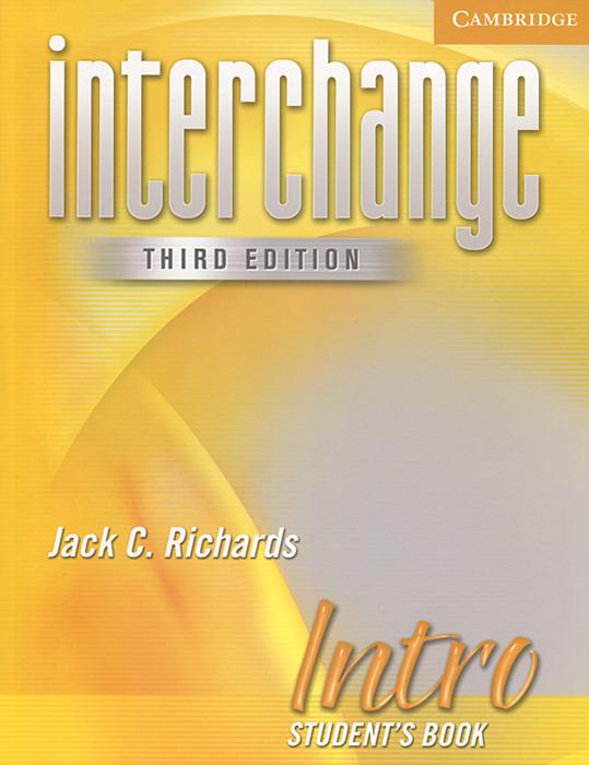 Interchange Intro: Student's Book interchange intro video teacher s guide 3rd edition