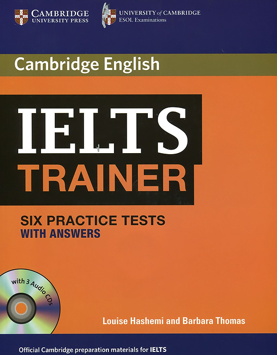 IELTS Trainer Six Practice Tests with Answers (+3 CD) milton j exams ielts practice tests 2 with answers