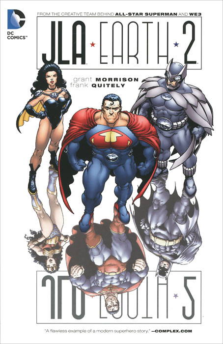 JLA Earth 2 from the earth to the moon
