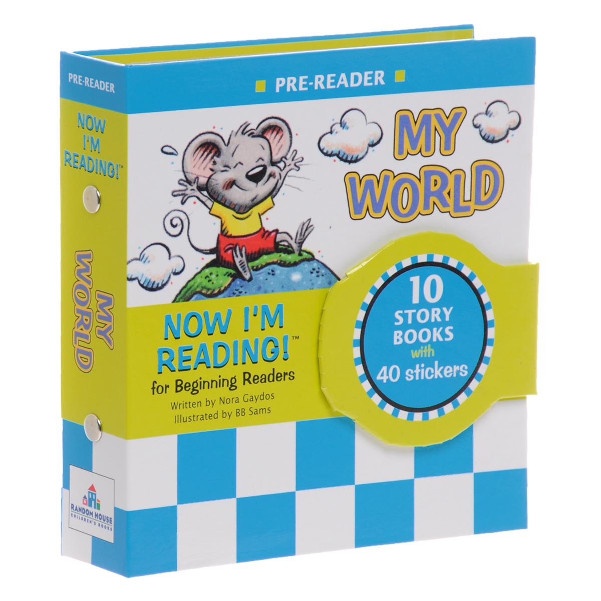 Now I'm Reading! Pre-Reader: My World (комплект из 10 книг + наклейки) reader self efficacy and reading instruction