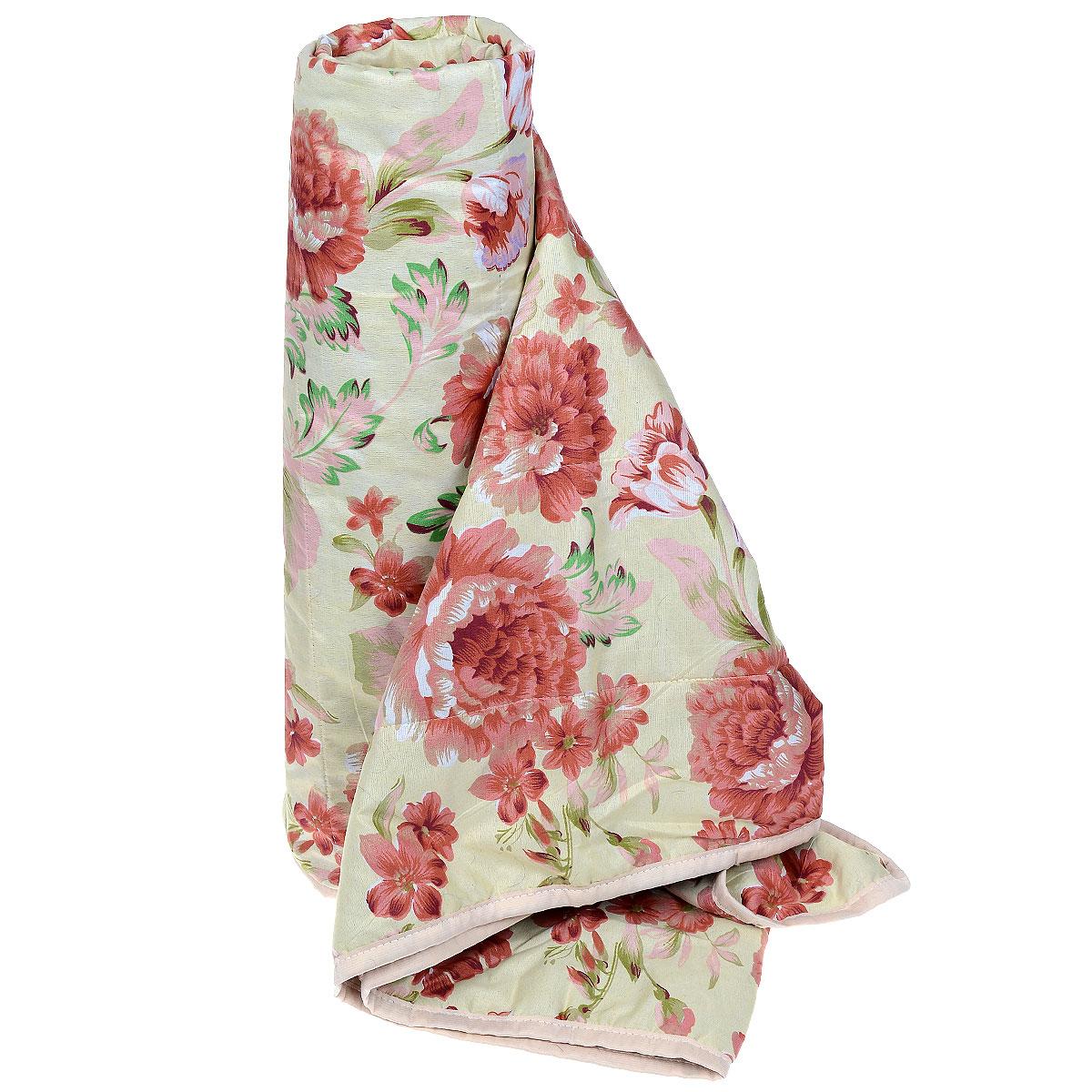 Одеяло летнее OL-Tex Miotex, наполнитель: полиэфирное волокно Holfiteks, цвет: бежевый, красный, 172 см х 205 смМХПЭ-18-1_бежевый, красныйЛегкое летнее одеяло OL-Tex Miotex создаст комфорт и уют во время сна. Чехол выполнен из полиэстера и оформлен красочным рисунком. Внутри - современный наполнитель из полиэфирного высокосиликонизированного волокна Holfiteks, упругий и качественный. Прекрасно держит тепло. Одеяло с наполнителем Holfiteks легкое и комфортное. Даже после многократных стирок не теряет свою форму, наполнитель не сбивается, так как одеяло простегано и окантовано. Не вызывает аллергии. Holfiteks - это возможность легко ухаживать за своими постельными принадлежностями. Можно стирать в машинке, изделия быстро и полностью высыхают - это обеспечивает гигиену спального места при невысокой цене на продукцию.Плотность: 100 г/м2.