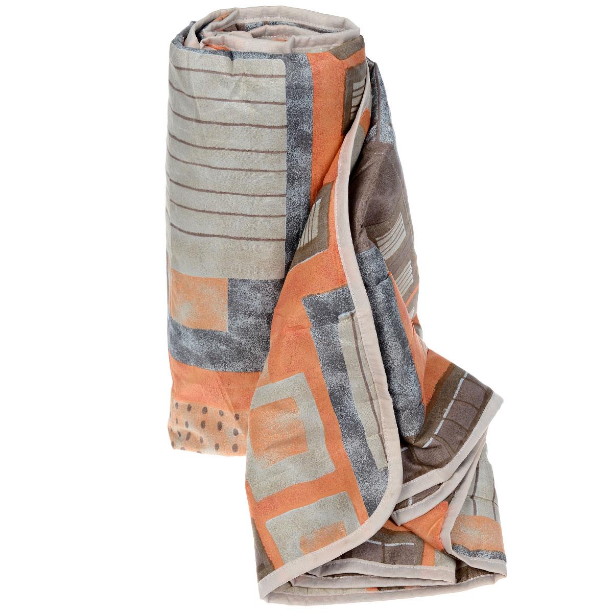 Одеяло летнее OL-Tex Квадраты, наполнитель: полиэфирное волокно Holfiteks, 200 х 220 смМХПЭ-22-1 _коричневый, оранжевыйЛегкое летнее одеяло OL-Tex Квадраты создаст комфорт и уют во время сна. Чехол выполнен из полиэстера и оформлен красочным цветочным рисунком. Внутри - современный наполнитель из полиэфирного высокосиликонизированного волокна холфитекс, упругий и качественный. Прекрасно держит тепло. Одеяло с наполнителем холфитекс легкое и комфортное. Даже после многократных стирок не теряет свою форму, наполнитель не сбивается, так как одеяло простегано и окантовано.Рекомендации по уходу:- Ручная и машинная стирка при температуре 30°С.- Не гладить.- Не отбеливать. - Нельзя отжимать и сушить в стиральной машине.- Сушить вертикально. Размер одеяла: 200 см х 220 см. Материал чехла: 100% полиэстер. Материал наполнителя: холфитекс.