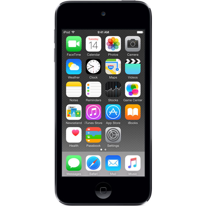 Apple iPod Touch 6G 32GB, Space Grey mp-3 плеер apple ipod touch 6g 64gb space grey mp 3 плеер