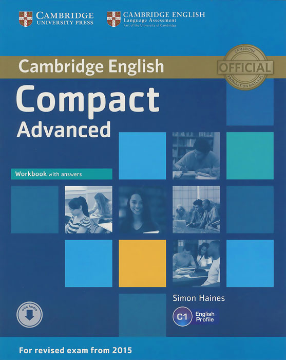 Compact Advanced: Workbook with Answers craven m cambridge english skills real listening