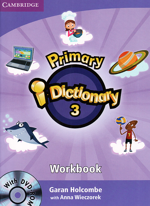 Primary i-Dictionary 3: Workbook (+ DVD-ROM) english with crosswords 3 dvdrom