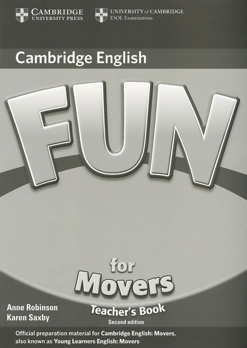 Fun for Movers: Teacher's Book fun for movers cd