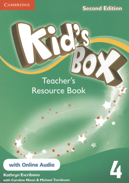 Kid's Box 4: Teacher's Resource Book with Online Audio fun for movers student s book with online activities with audio and home fun booklet 4