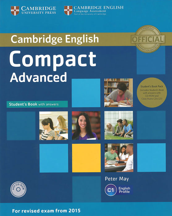 Compact Advanced: Student's Book with Answers (+ 2 CD) cambridge grammar for pet book with answers 2 cd