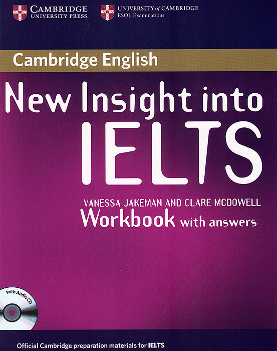 New Insight into IELTS: Workbook Pack (+ Audio CD) ready for ielts workbook with answers 2cd