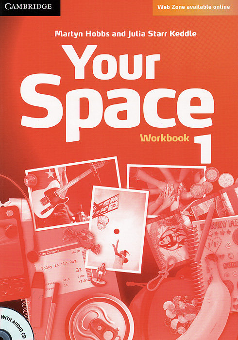 Your Space: Level 1: Workbook (+ CD-ROM) english with crosswords 3 dvdrom