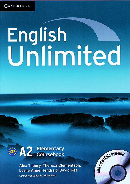 English Unlimited: Elementary: Coursebook with e-Portfolio and Online Workbook Pack (+ DVD-ROM) english unlimited a1 starter teacher s pack dvd rom