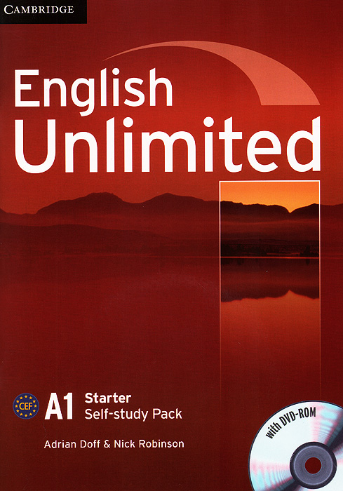 English Unlimited: Level A1: Self-study Pack (+ DVD-ROM) english unlimited a1 starter teacher s pack dvd rom
