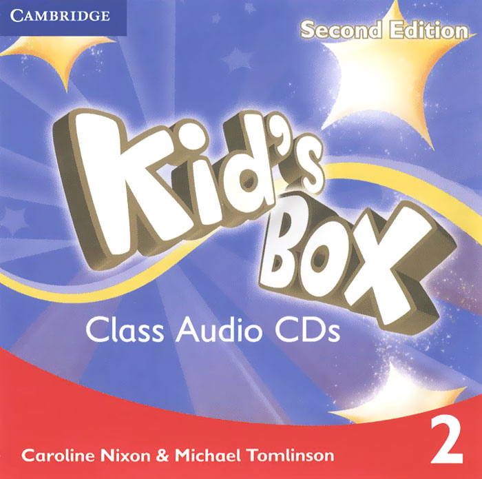 Kid's Box: Level 2 (аудиокурс на 4 CD) world class teachers book level 1