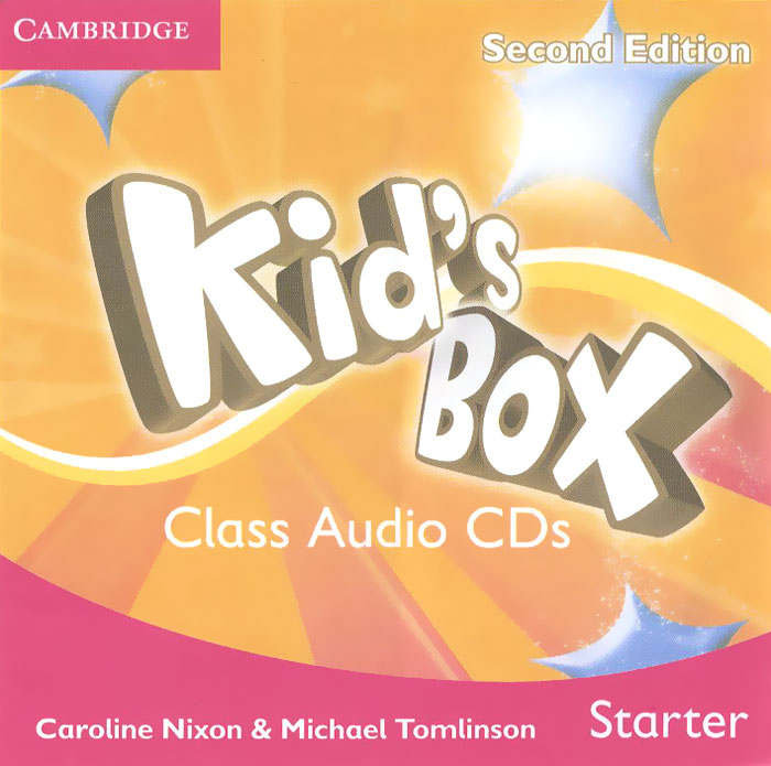 Kid's Box: Level 2: Starter (аудиокурс на 2 CD) welcome starter a class cd для занятий в классе cd