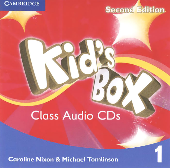 Kid's Box: Level 1 (аудиокурс на 4 CD) cambridge english teachers book 4 й уровень