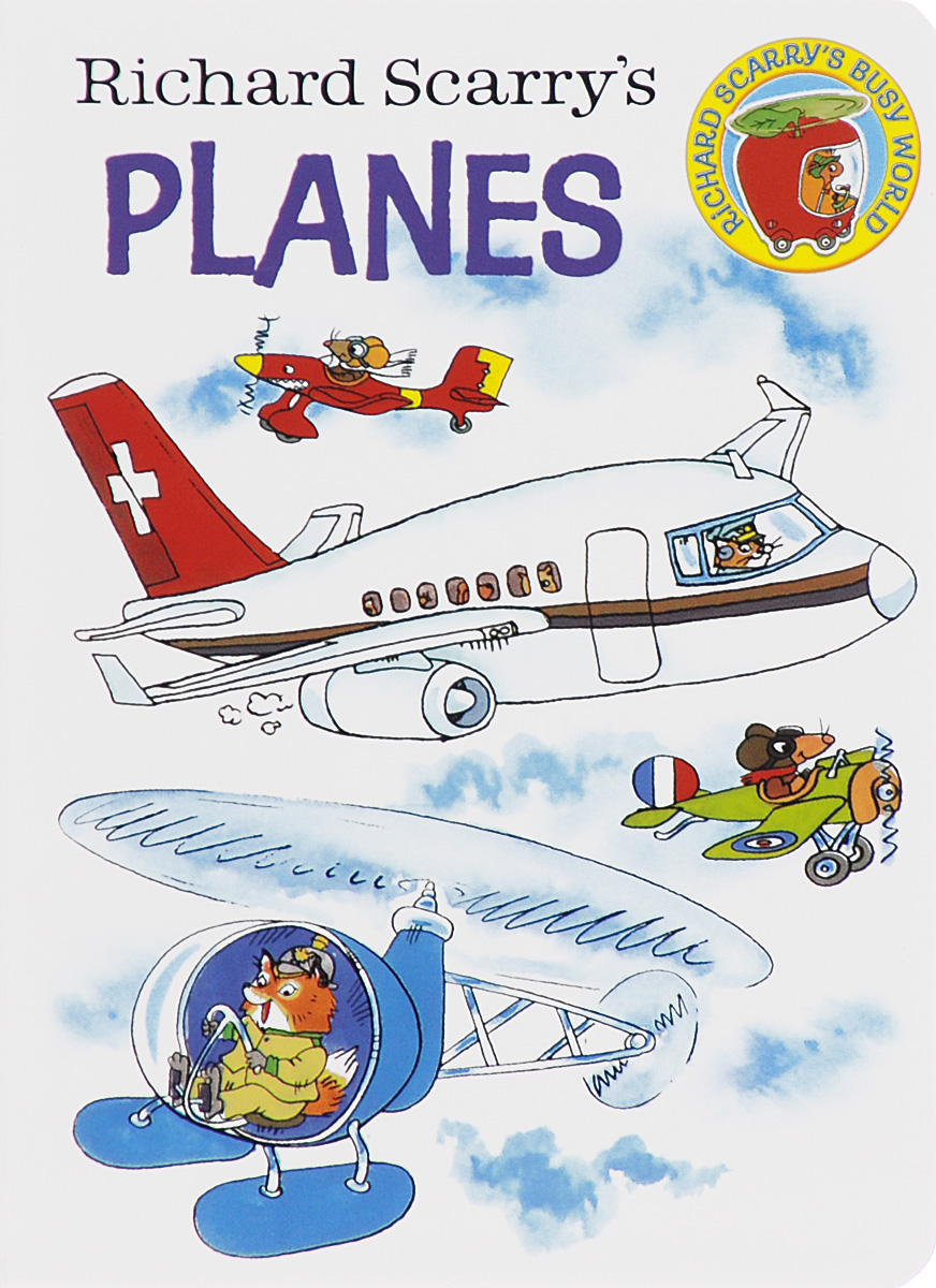 Richard Scarry's Planes пуловер quelle b c best connections by heine 78785