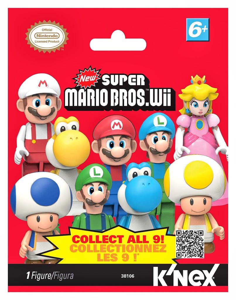 Super Mario Bros. Wii: Минифигурки. 38106