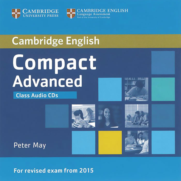 Compact Advanced: Class Audio CDs (аудиокурс на 2 CD) palmer g cambridge english skills real writing 1 with answers cd