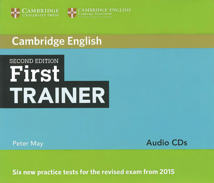 First Trainer: Audio CDs (аудиокурс на 4 CD) evans v obee b fce for schools practice tests 2 student s book