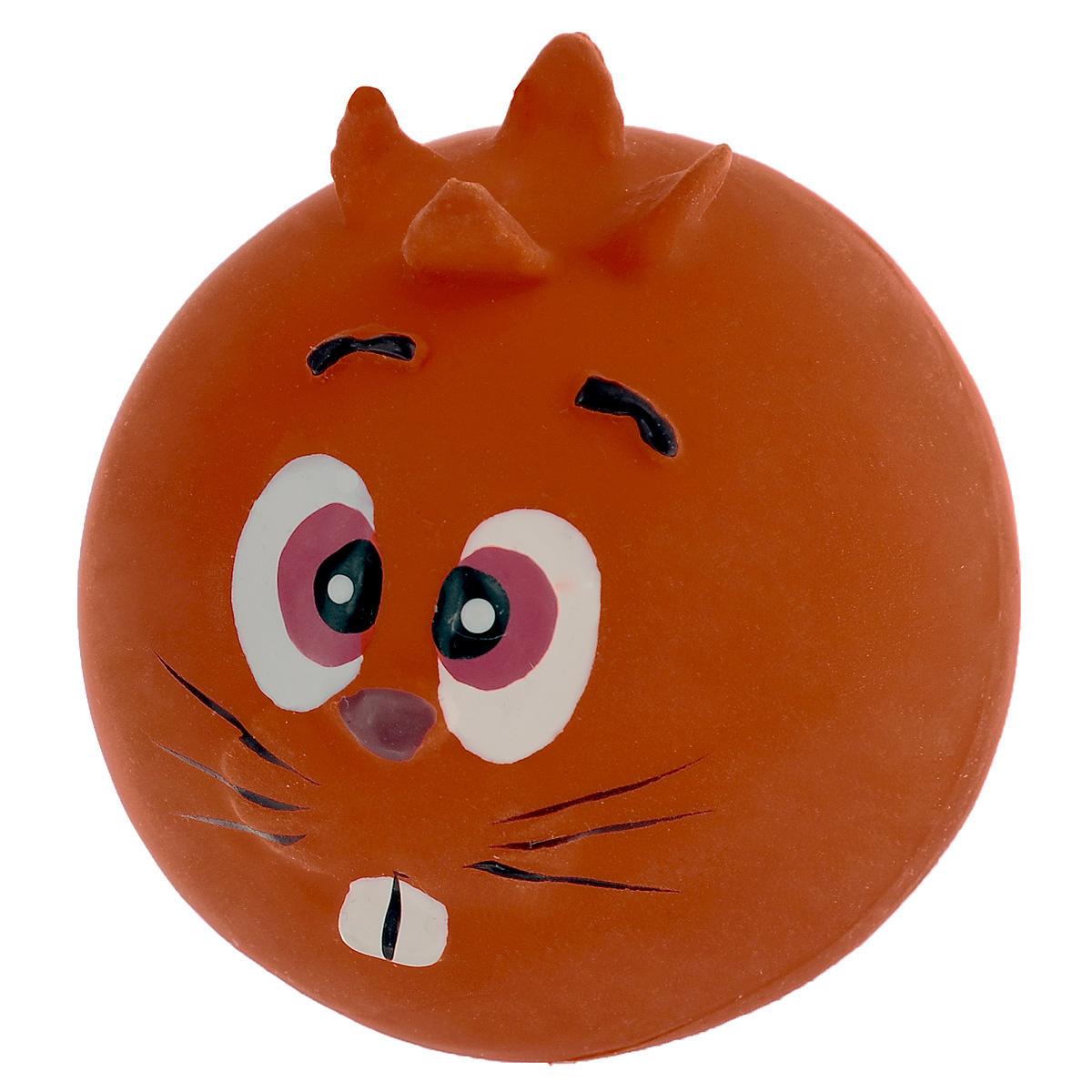 Игрушка для собак I.P.T.S. Мяч с мордочкой, цвет: оранжевый, диаметр 7 см16291 оранжевыйИгрушка для собак I.P.T.S. Мяч с мордочкой, изготовленная из высококачественного латекса, выполнена в виде мячика с милой мордочкой. Такая игрушка порадует вашего любимца, а вам доставит массу приятных эмоций, ведь наблюдать за игрой всегда интересно и приятно. Оставшись в одиночестве, ваша собака будет увлеченно играть.Диаметр: 7 см.