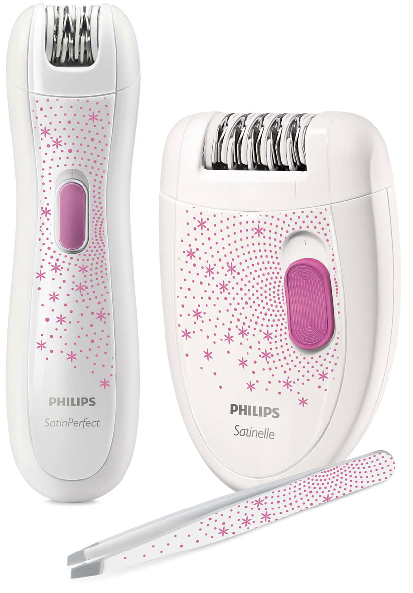 Philips HP6549/00, White Pink эпилятор