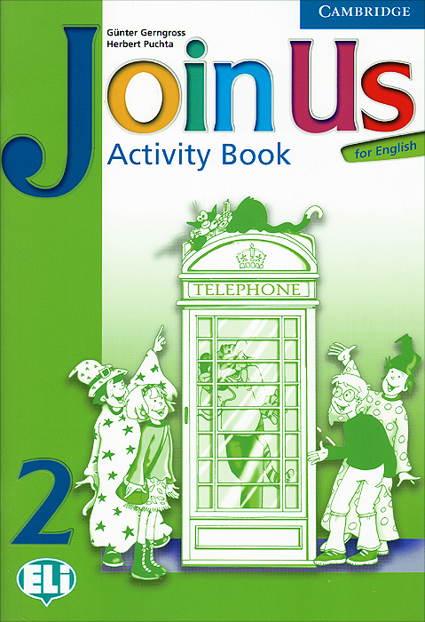 Join Us for English 2: Activity Book коллектив авторов english love stories