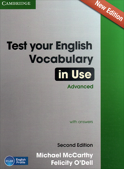 Test Your English Vocabulary in Use: Advanced with Answers murphy r essential grammar in use a self study reference and practice book for elementary learners of english fourth edition with answers and ebook