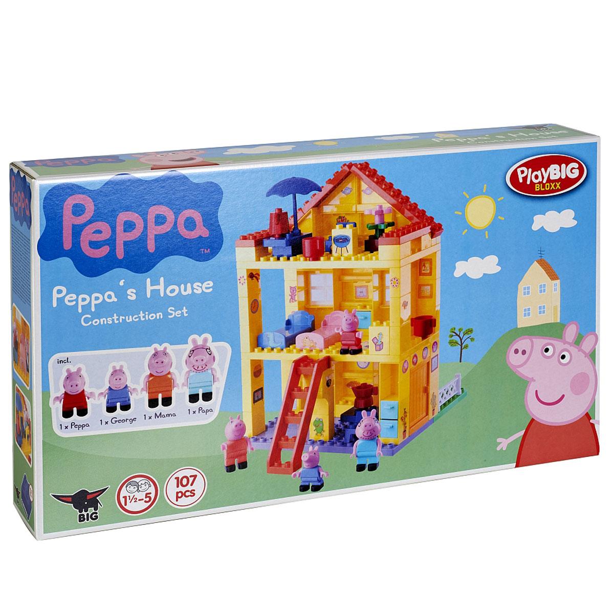 Peppa Pig Конструктор Любимый дом peppa pig игровой набор дом пеппы с садом 31611
