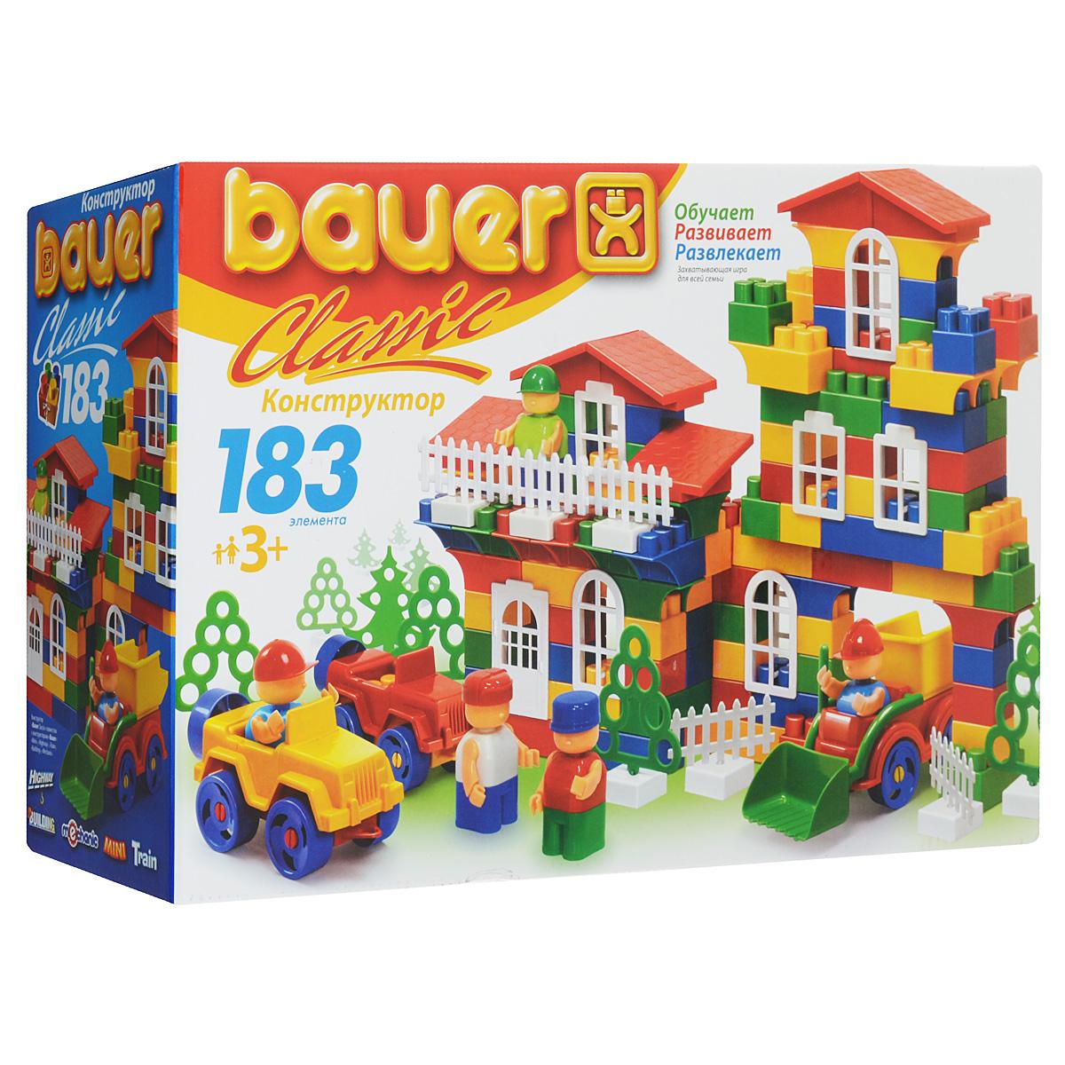 Bauer Конструктор Classic 198 lego classic конструктор дополнение к набору для творчества яркие цвета 10693